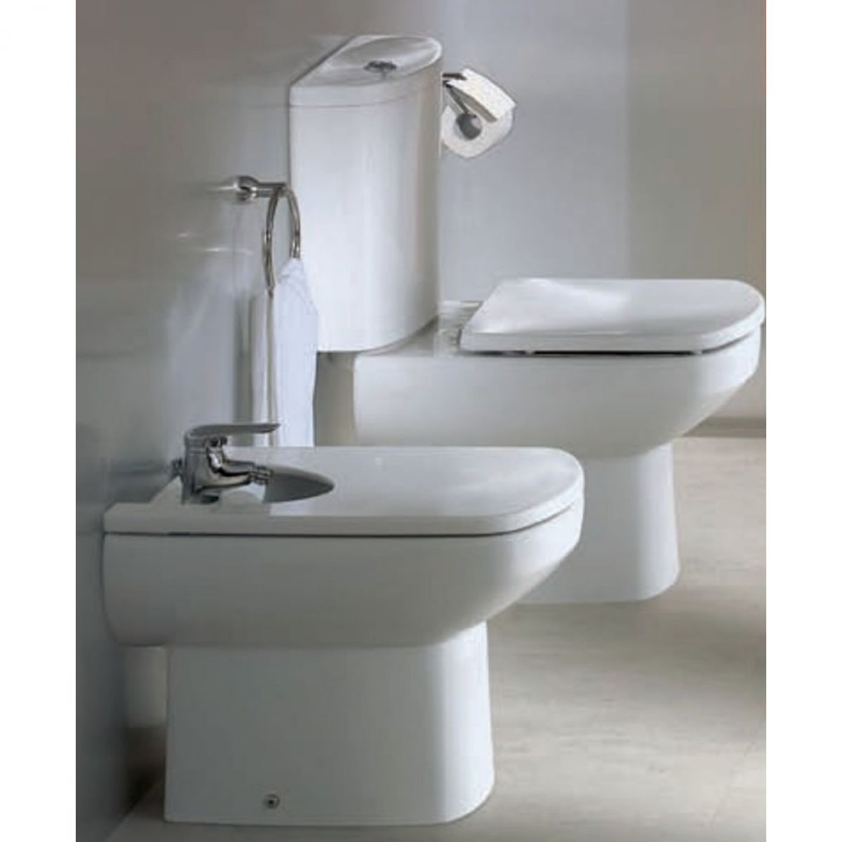 roca senso floorstanding bidet uk bathrooms