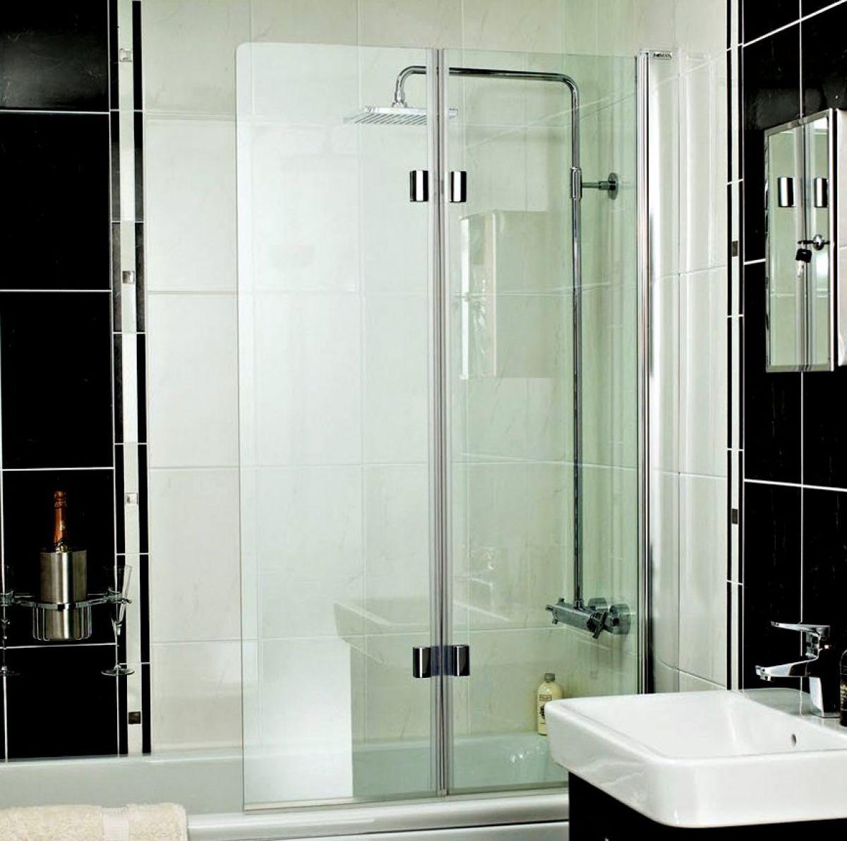Roman Embrace Folding Bath Screen Uk Bathrooms