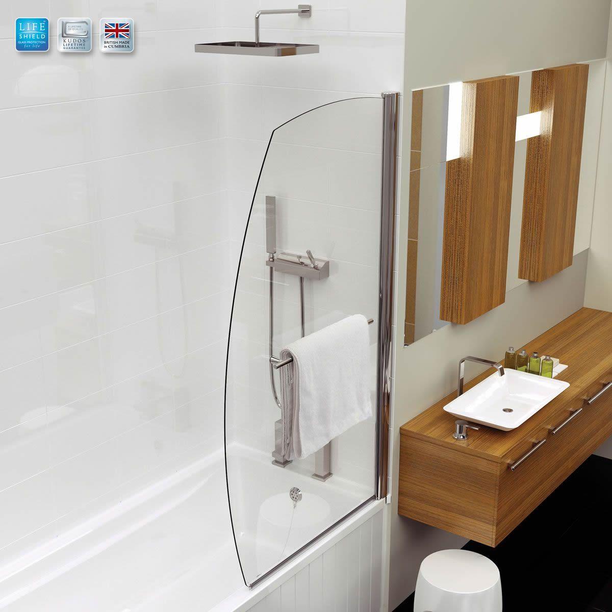 Kudos Sail Bath Screen : UK Bathrooms #1F7DAC 1200x1200