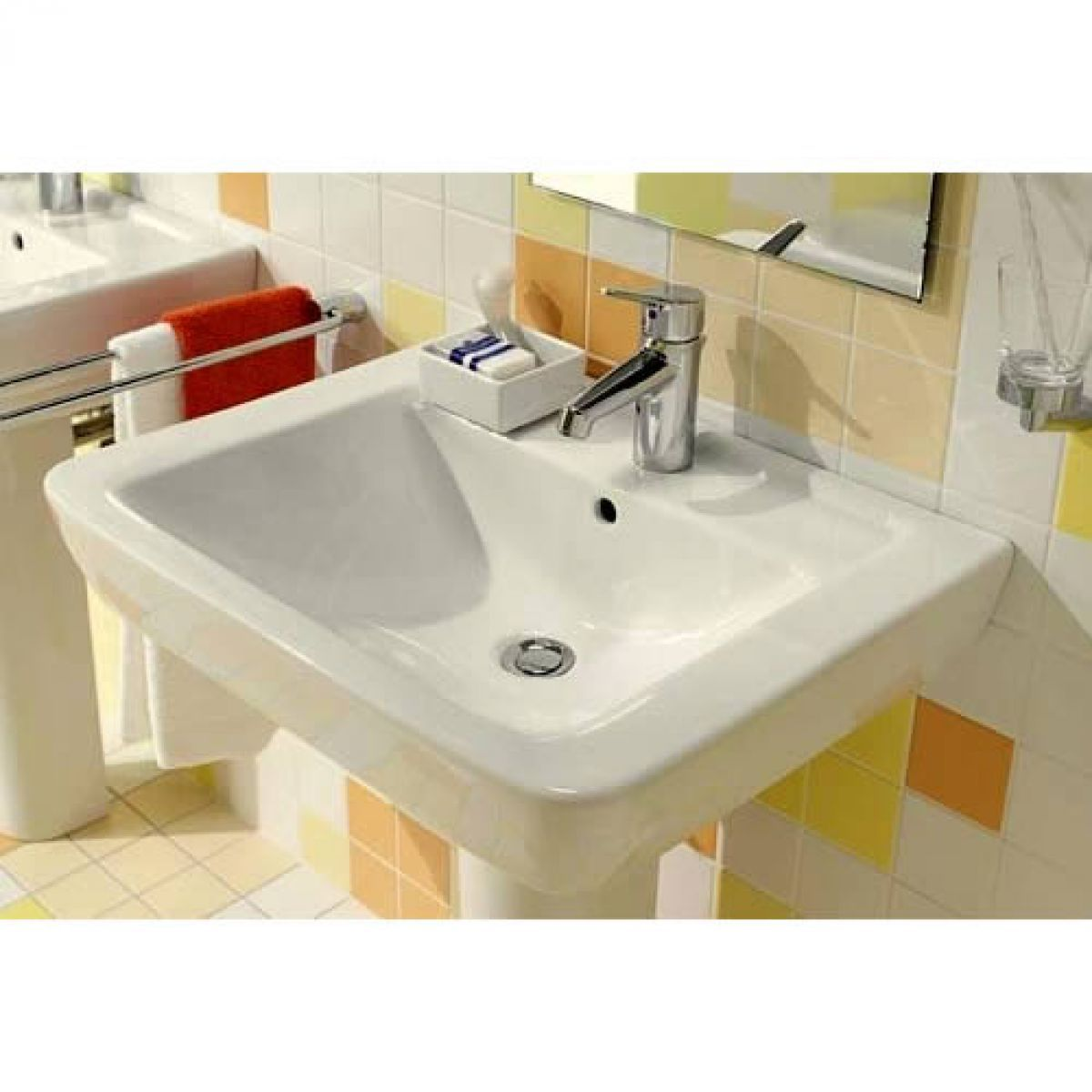 villeroy boch subway washbasin uk bathrooms. Black Bedroom Furniture Sets. Home Design Ideas