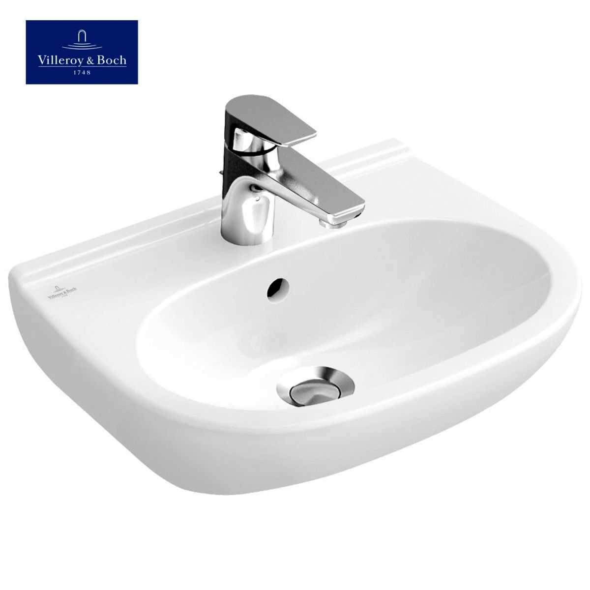 villeroy boch o novo compact washbasin uk bathrooms. Black Bedroom Furniture Sets. Home Design Ideas