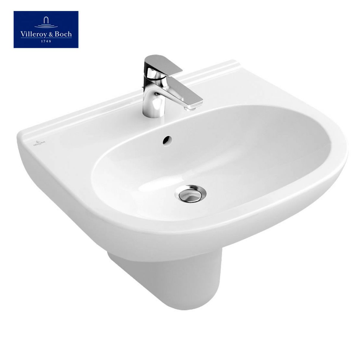 villeroy boch o novo curved washbasin uk bathrooms. Black Bedroom Furniture Sets. Home Design Ideas