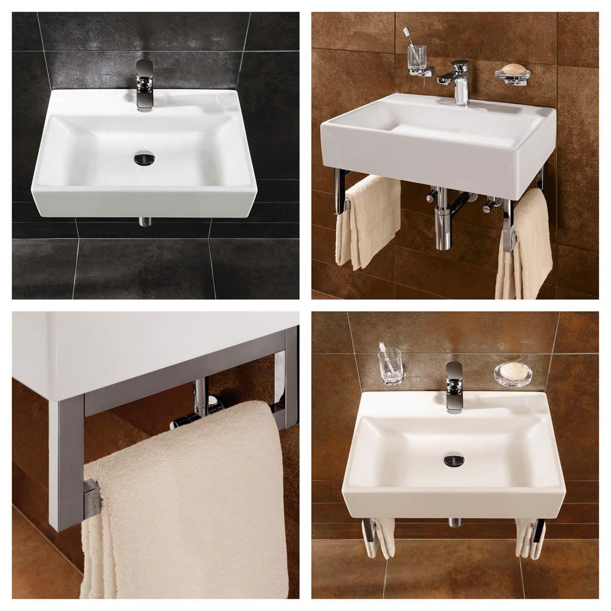 villeroy boch 600mm memento washbasin uk bathrooms. Black Bedroom Furniture Sets. Home Design Ideas