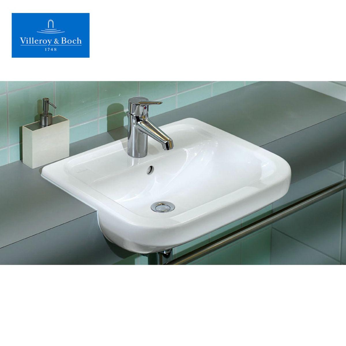 Villeroy boch omnia architectura semi recessed washbasin - Villeroy y boch ...