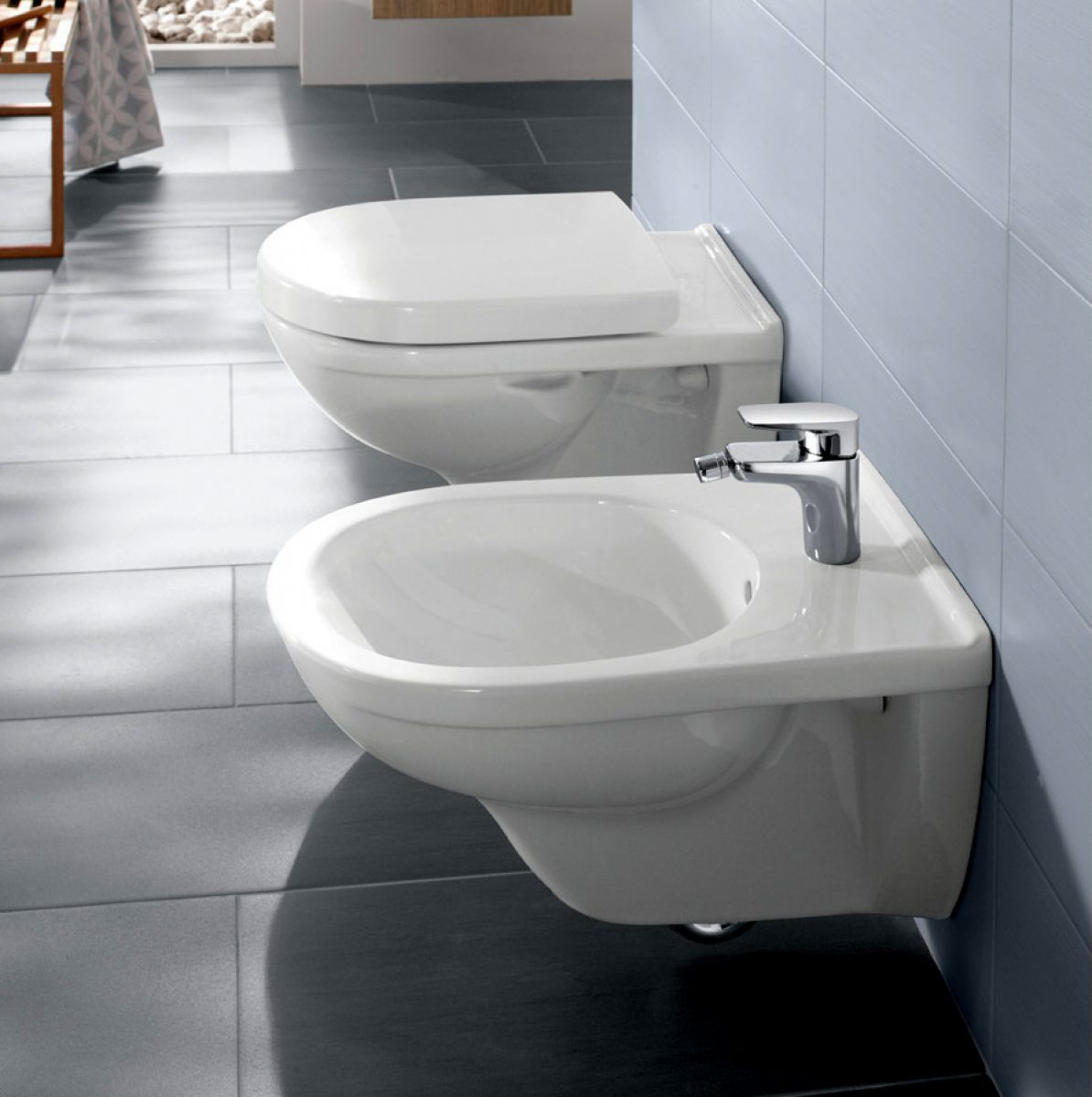 villeroy boch o novo wall hung toilet uk bathrooms. Black Bedroom Furniture Sets. Home Design Ideas