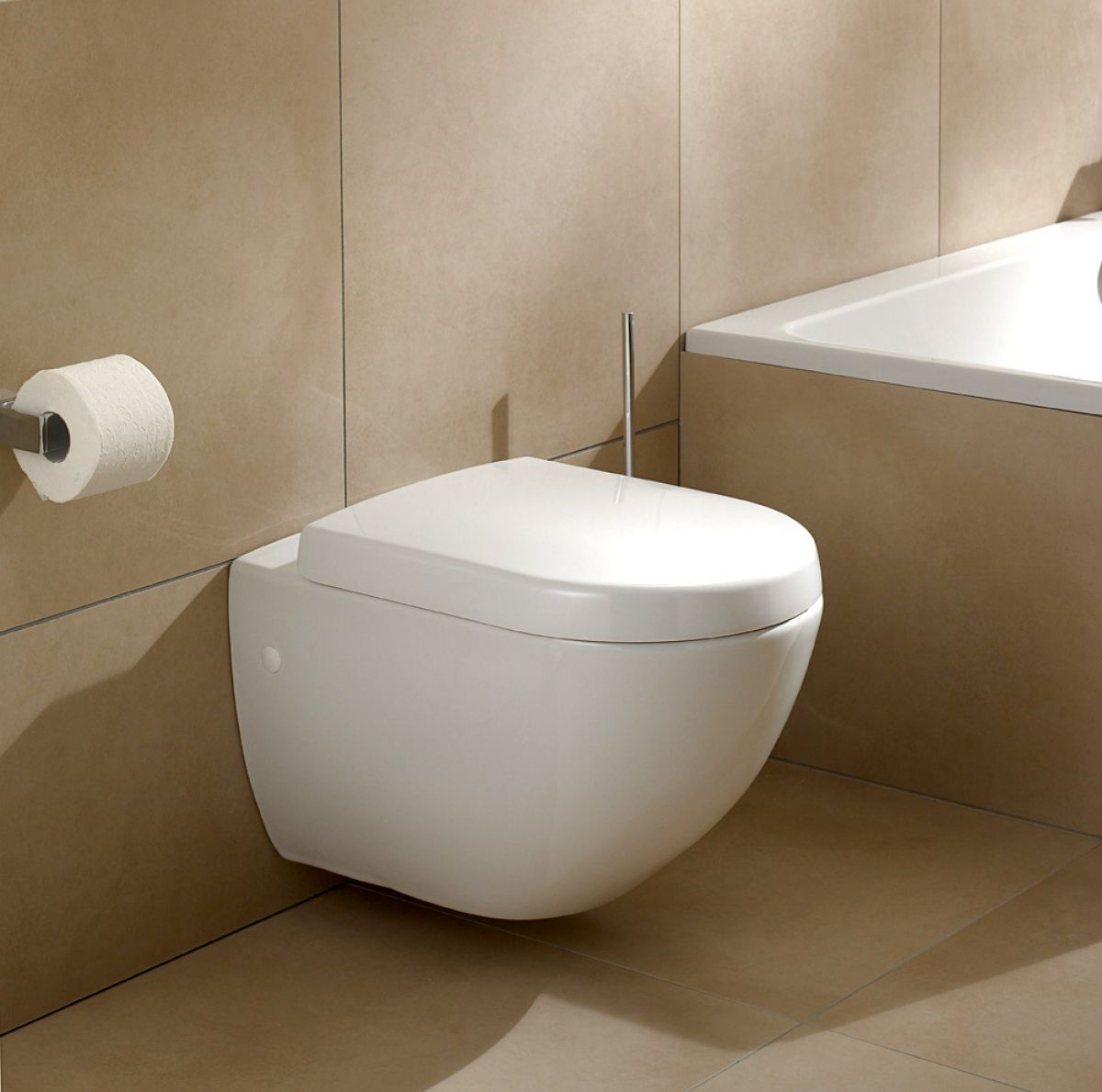 villeroy and boch subway compact wall hung toilet uk bathrooms. Black Bedroom Furniture Sets. Home Design Ideas