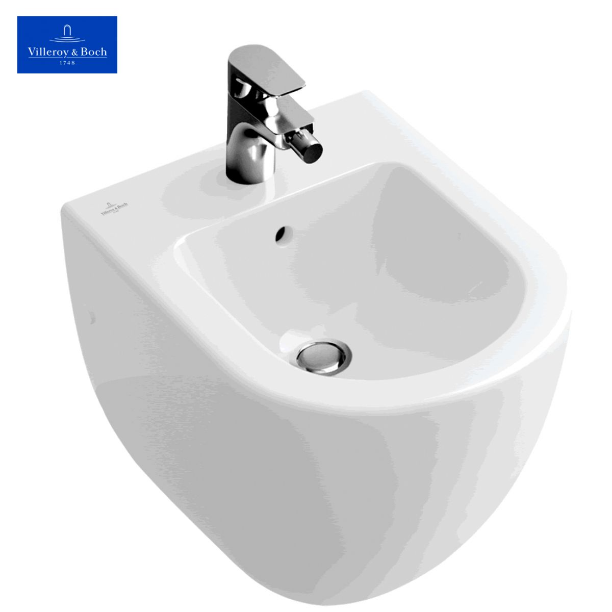 villeroy and boch subway compact wall mounted bidet uk. Black Bedroom Furniture Sets. Home Design Ideas