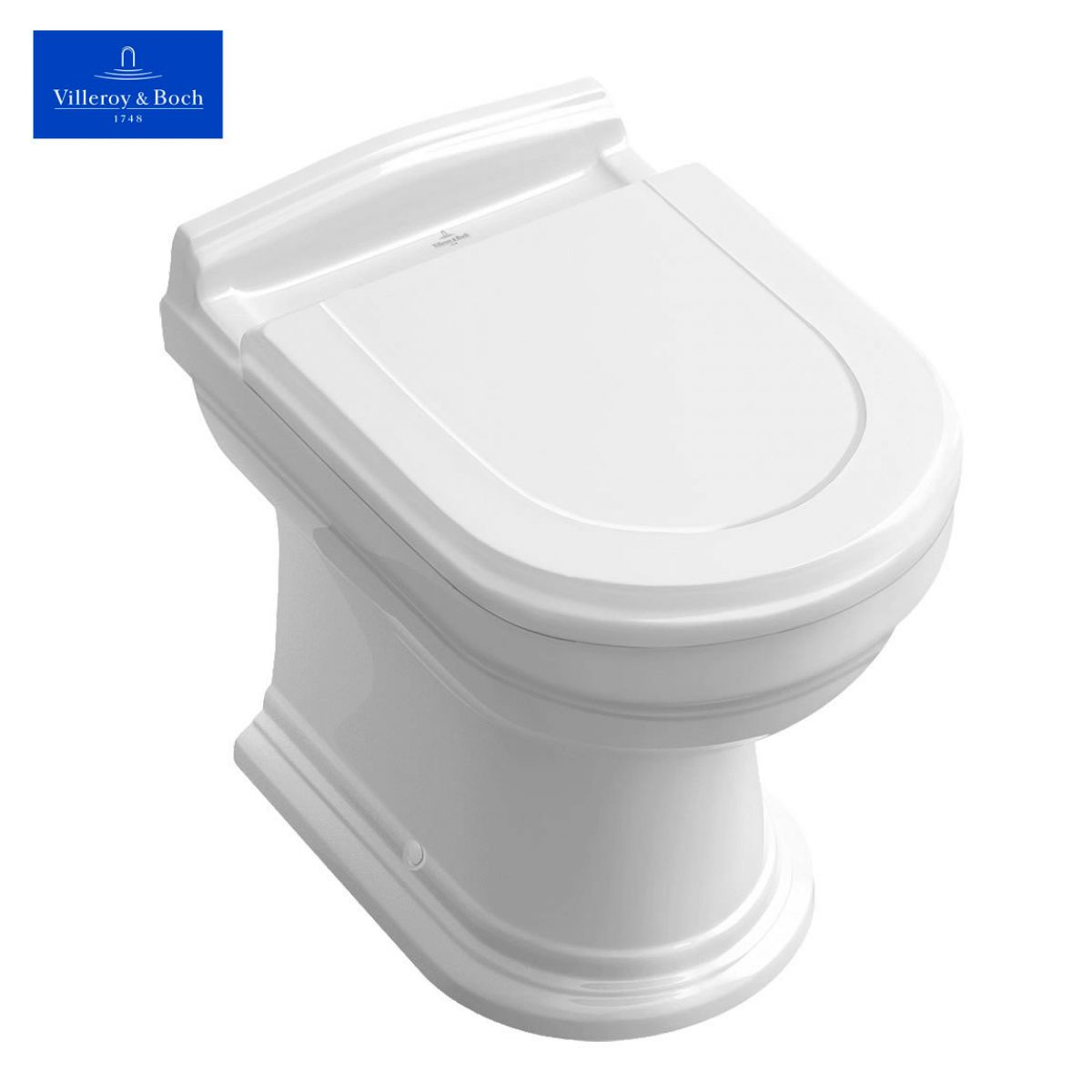 villeroy boch hommage back to wall wc uk bathrooms. Black Bedroom Furniture Sets. Home Design Ideas