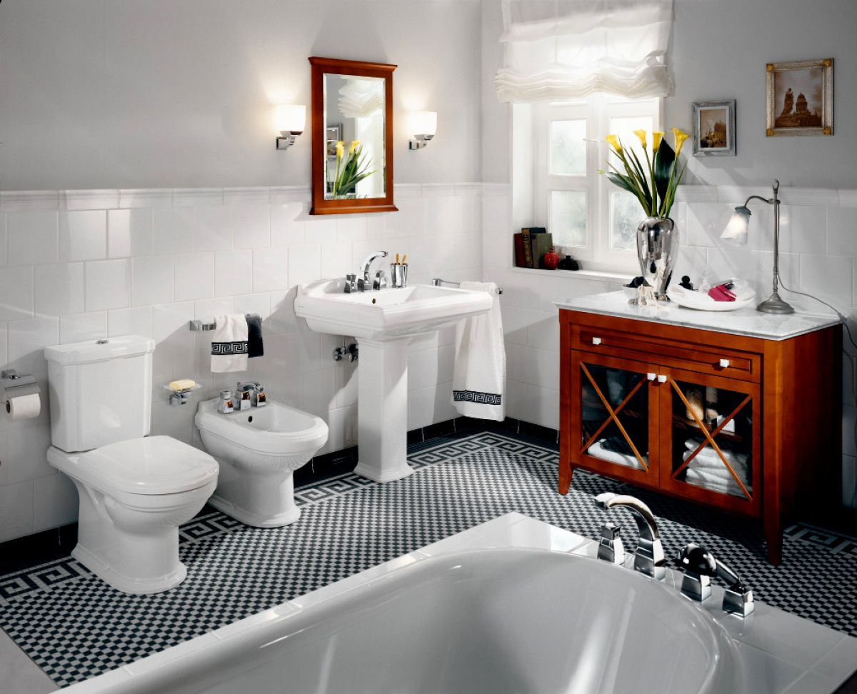 V Amp B Hommage Close Coupled Toilet Uk Bathrooms
