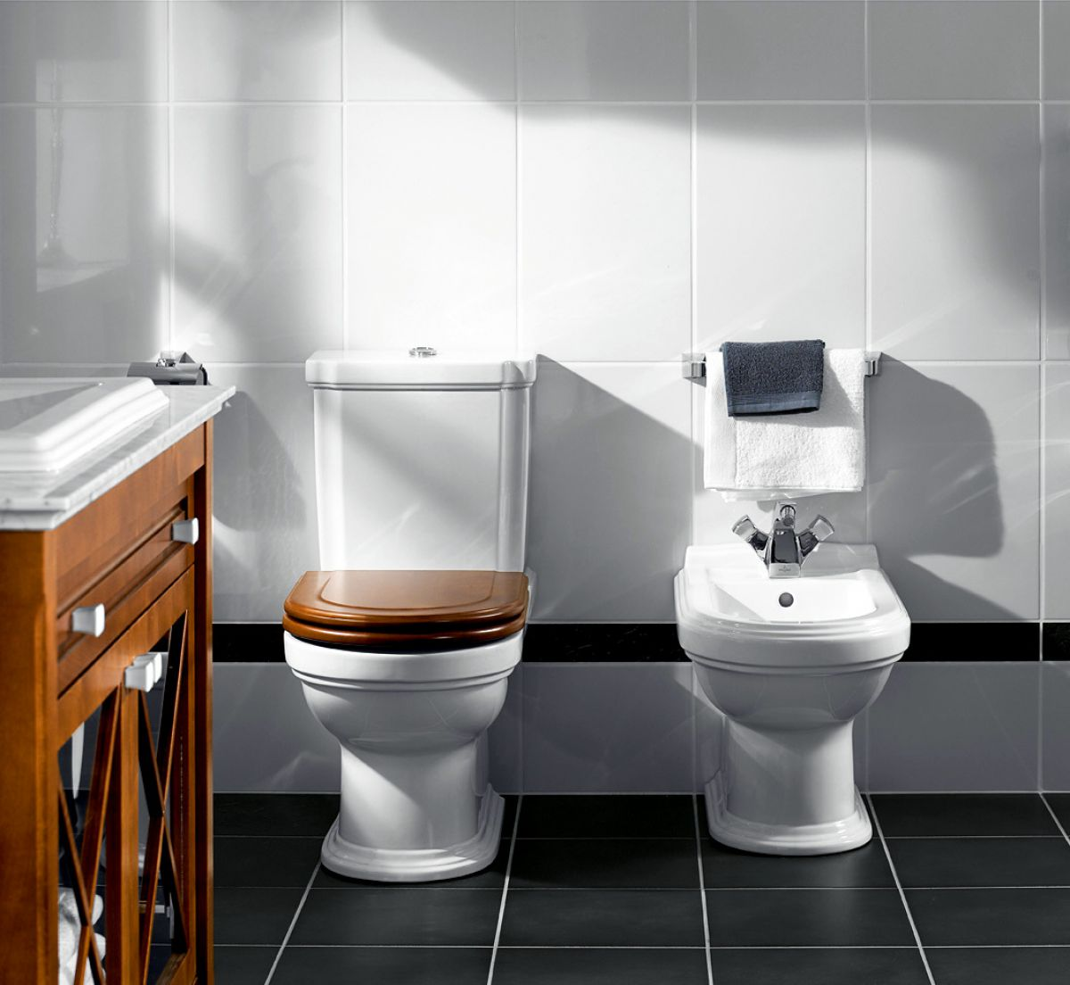 villeroy boch hommage floor standing bidet uk bathrooms. Black Bedroom Furniture Sets. Home Design Ideas
