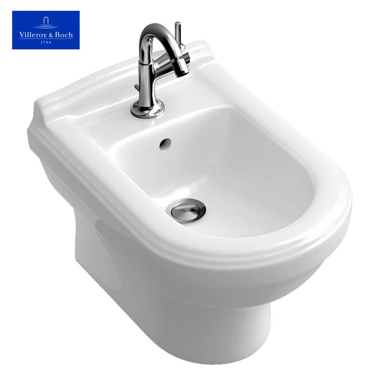 villeroy boch hommage wall mounted bidet uk bathrooms. Black Bedroom Furniture Sets. Home Design Ideas