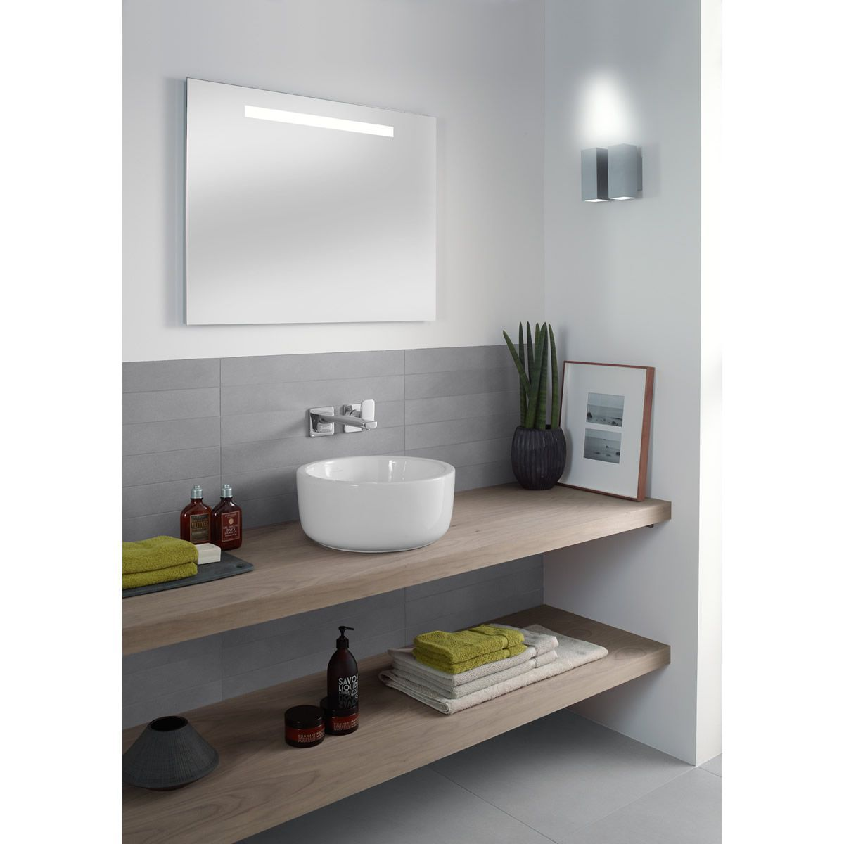 villeroy boch soho subway led illuminated mirror uk. Black Bedroom Furniture Sets. Home Design Ideas
