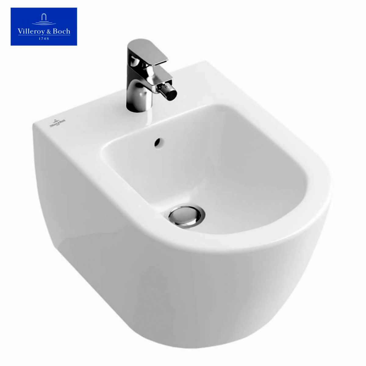 villeroy boch subway 2 0 wall mounted bidet uk bathrooms. Black Bedroom Furniture Sets. Home Design Ideas