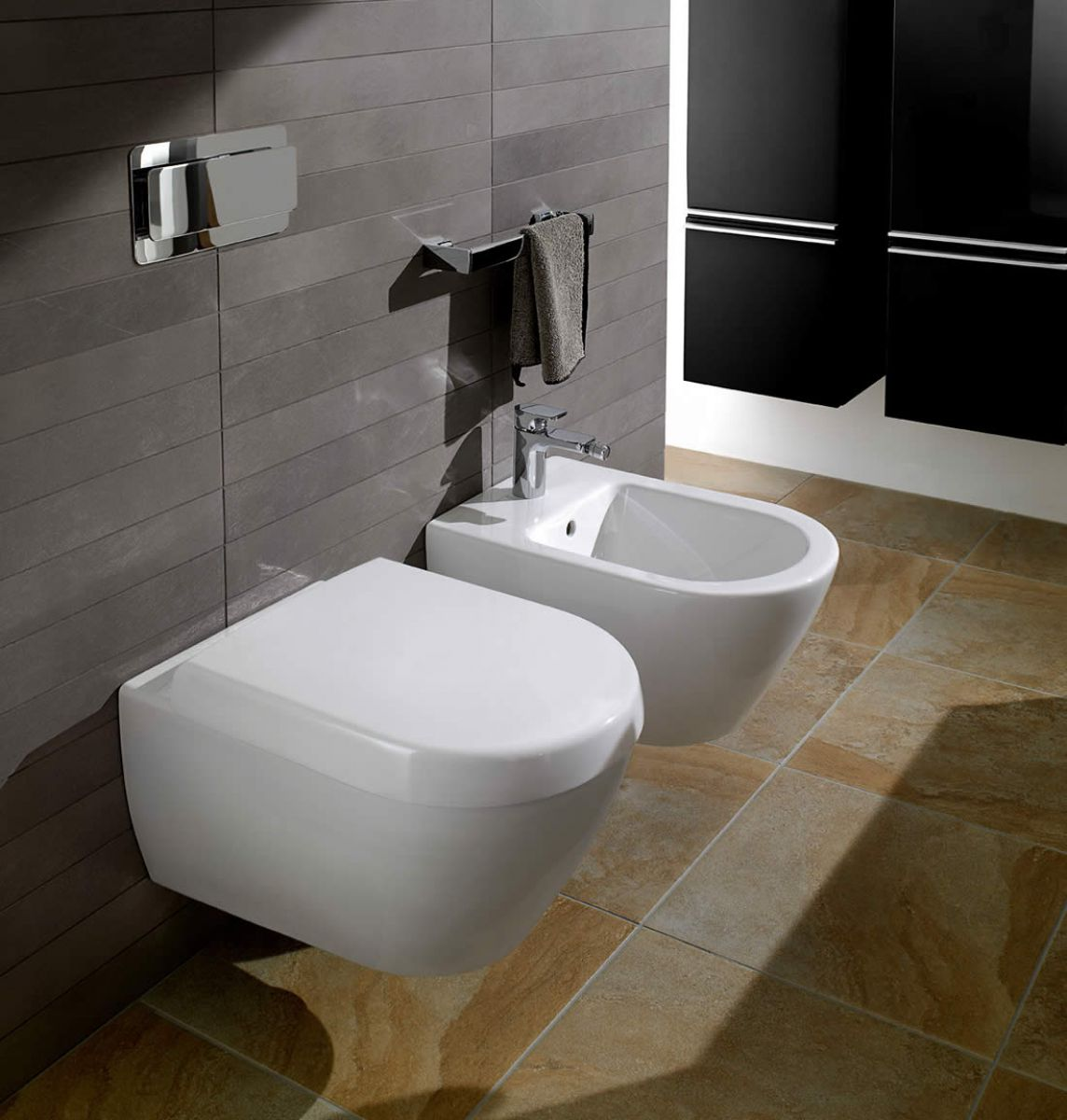 villeroy boch subway 2 0 wall mounted bidet uk bathrooms. Black Bedroom Furniture Sets. Home Design Ideas