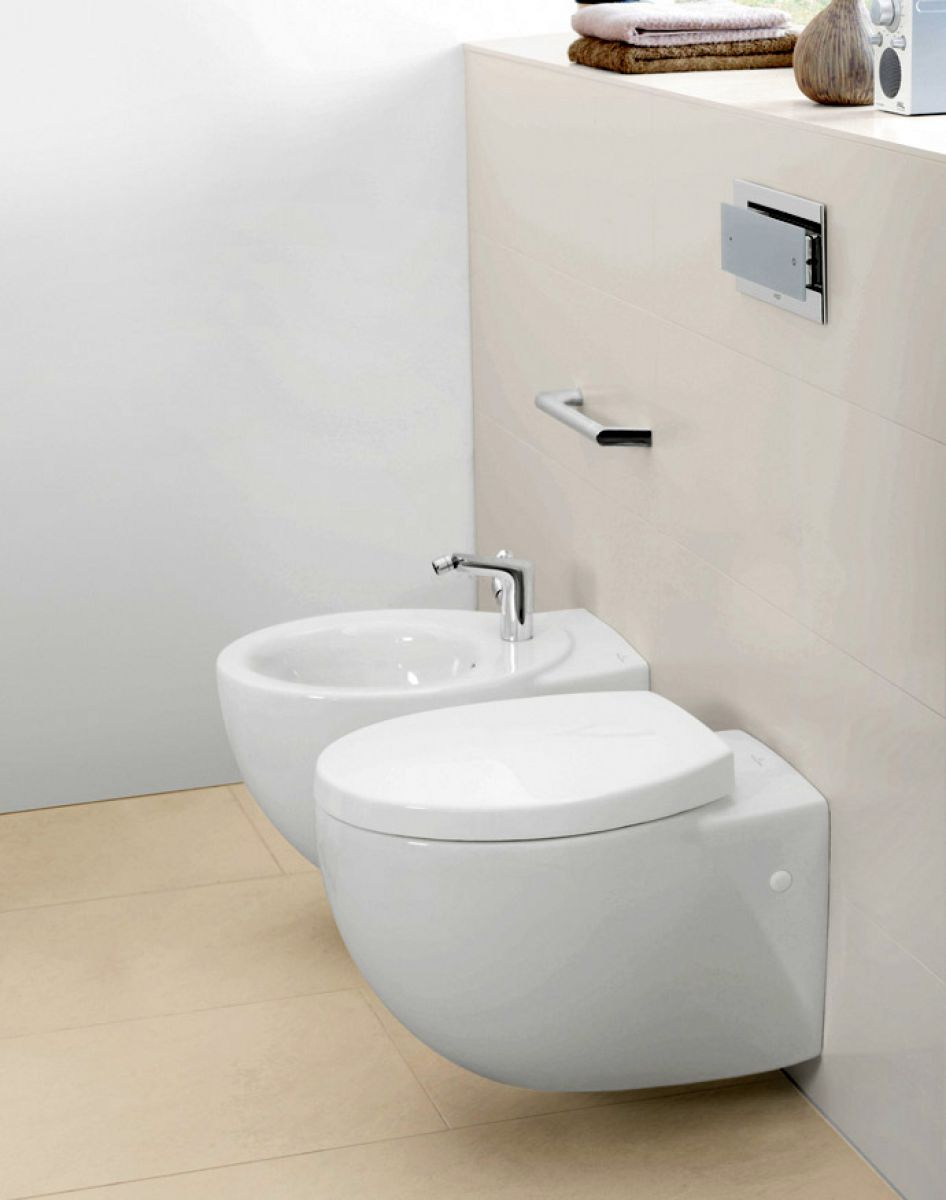 villeroy boch aveo new generation wall hung toilet - Villeroy And Boch Baths