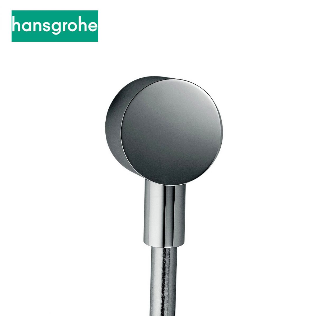 Hansgrohe FixFit S Wall Outlet with non-return valve
