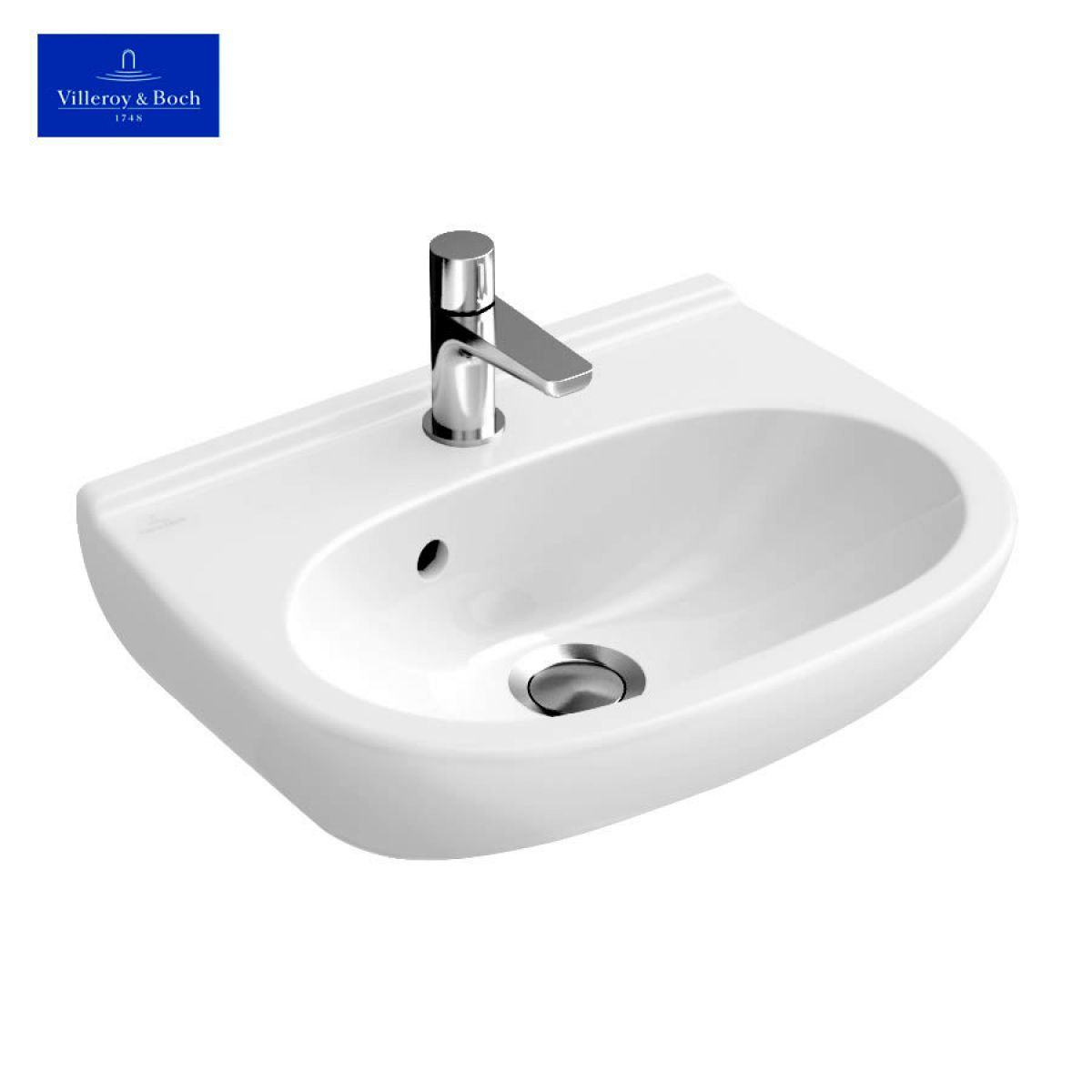 villeroy boch o novo compact handwashbasin uk bathrooms. Black Bedroom Furniture Sets. Home Design Ideas