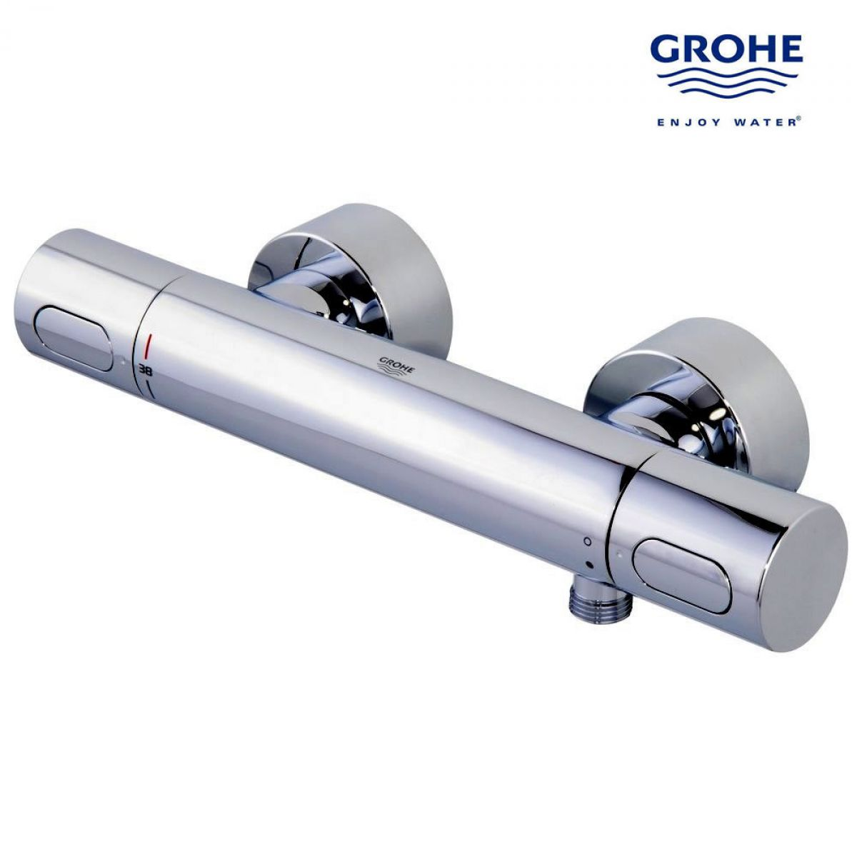 grohe 1000 thermostatic bath shower mixer. grohtherm 3000 cosmo thermostatic bath/shower mixer with ecobutton grohe 1000 bath shower t