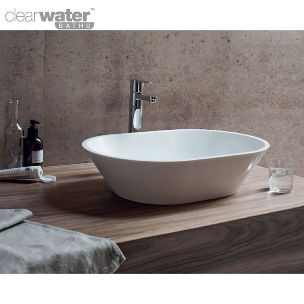 clearwater sontuoso natural stone countertop basin uk. Black Bedroom Furniture Sets. Home Design Ideas