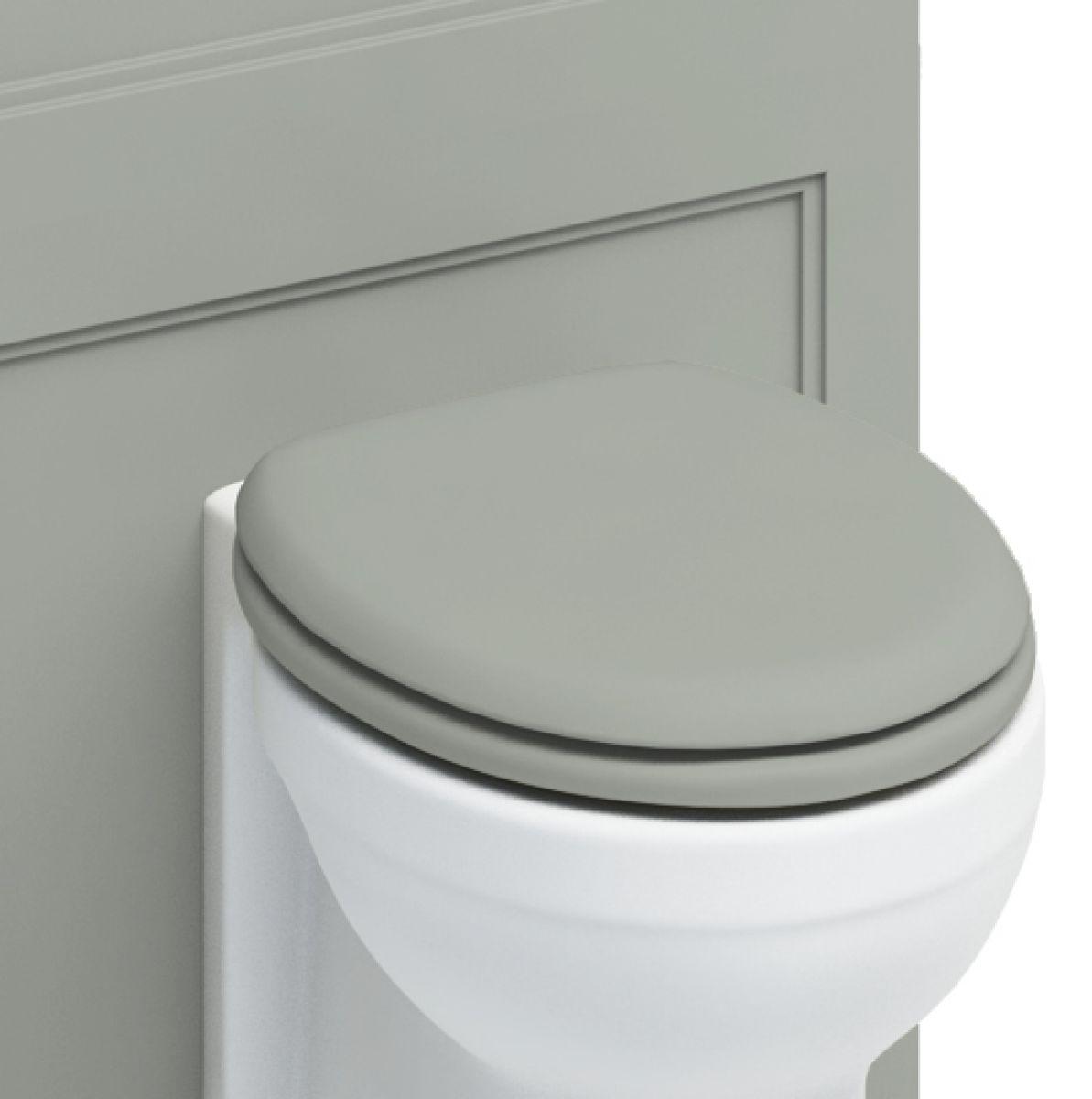 soft close grey toilet seat. Burlington Painted Soft Close Toilet Seat  UK Bathrooms