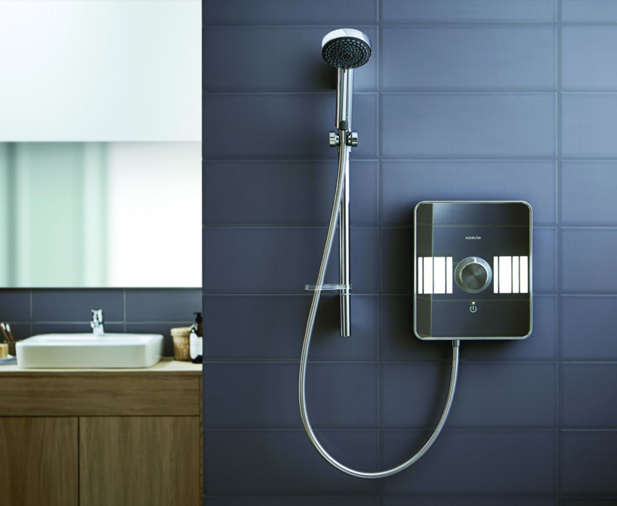 Aqualisa Lumi Electric Shower : UK Bathrooms