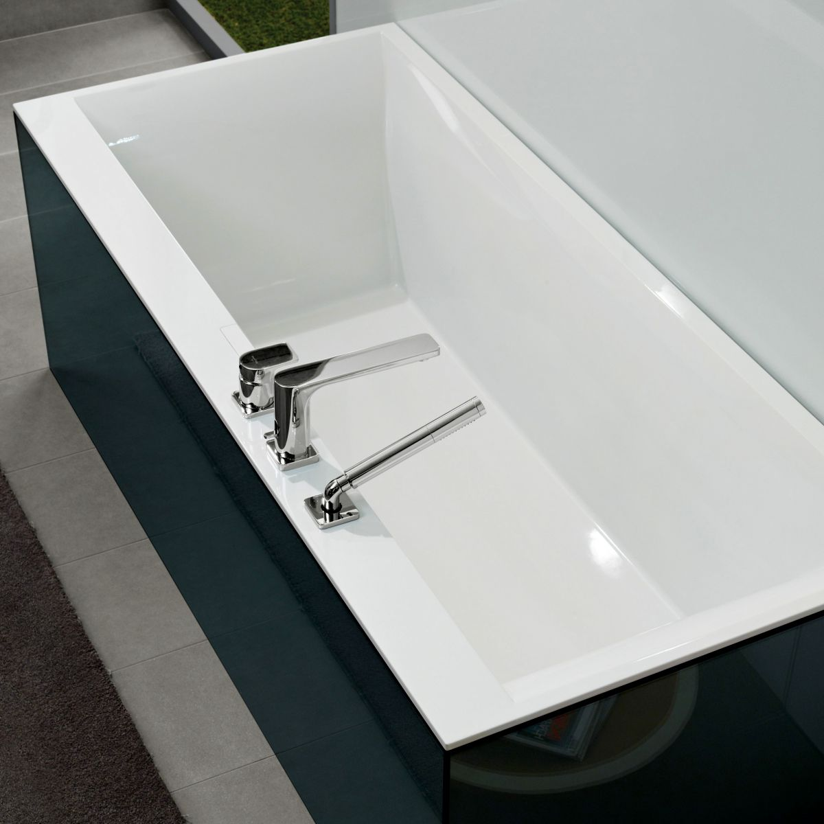 villeroy and boch squaro edge 12 luxury bath uk bathrooms. Black Bedroom Furniture Sets. Home Design Ideas