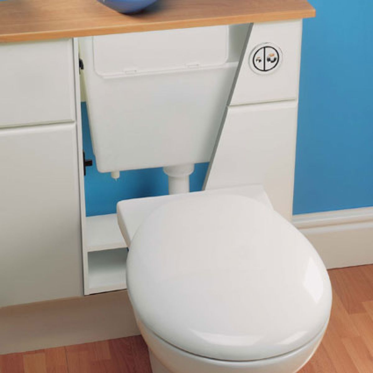 Geberit Concealed Furniture Cistern With Button Flush Uk