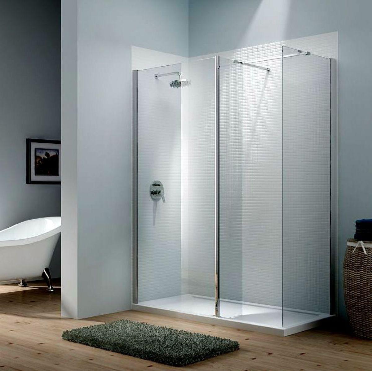 Merlyn Vivid 8 Cube Walk-In Shower Enclosure : UK Bathrooms