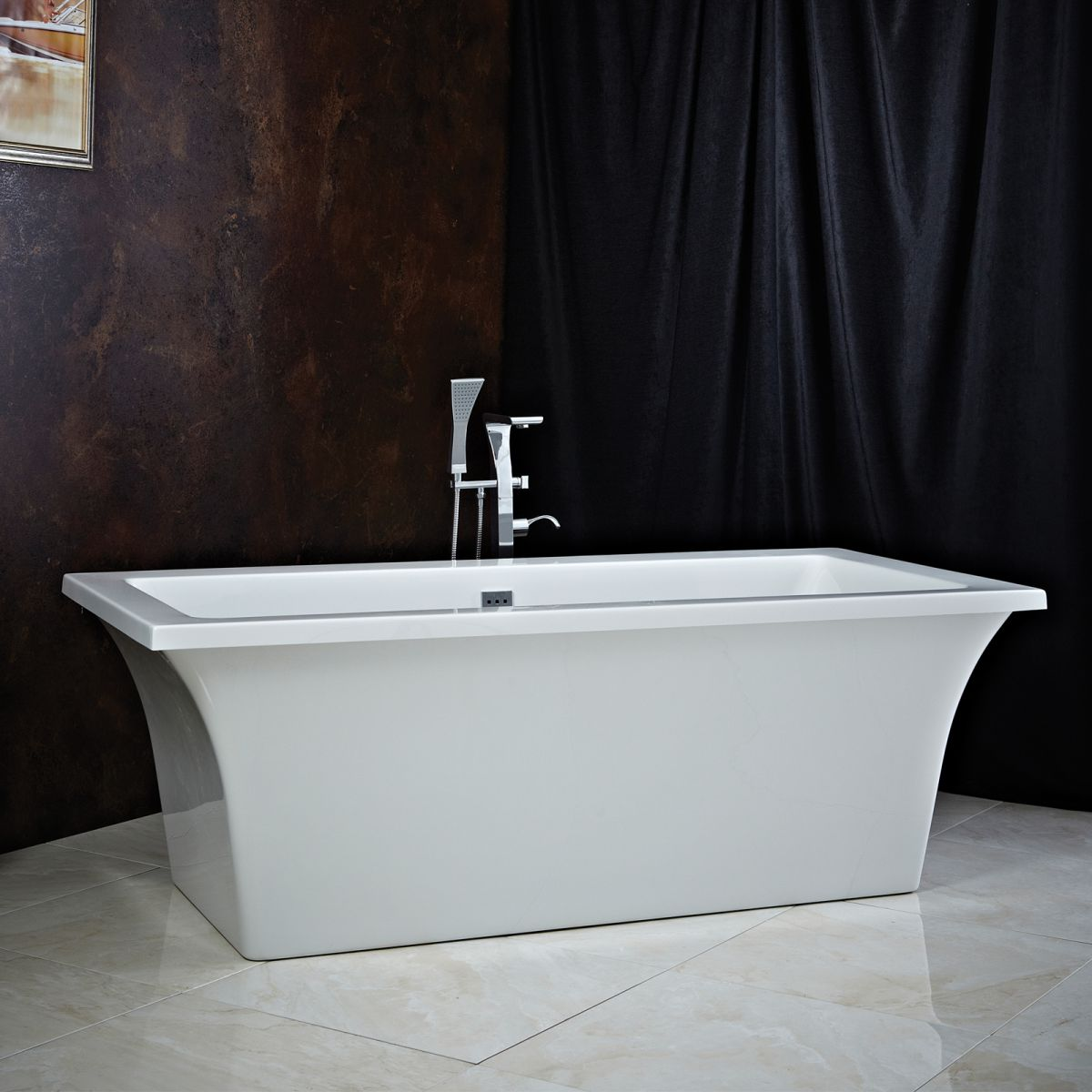 Phoenix Ai Double Ended Freestanding Bath
