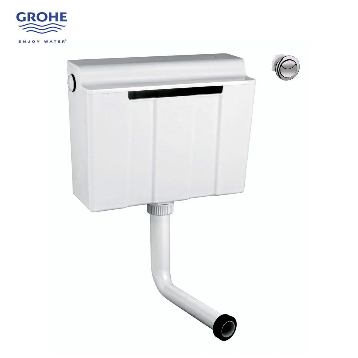 Grohe Adagio Concealed Dual Flush Cistern With Flush