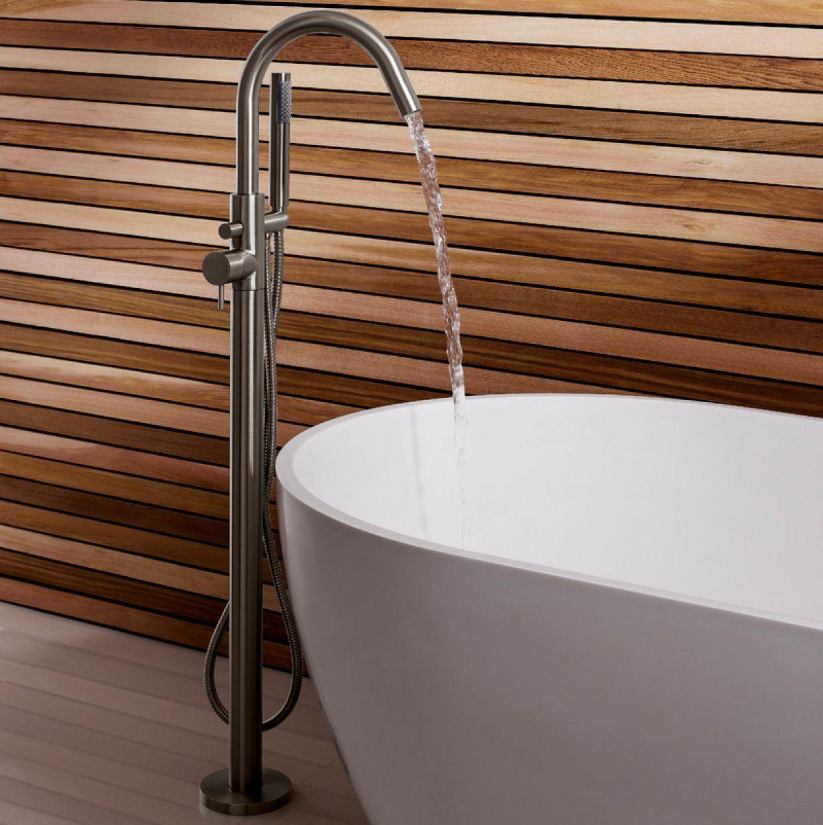 Crosswater Mike Pro Floorstanding Bath Shower Mixer : UK Bathrooms