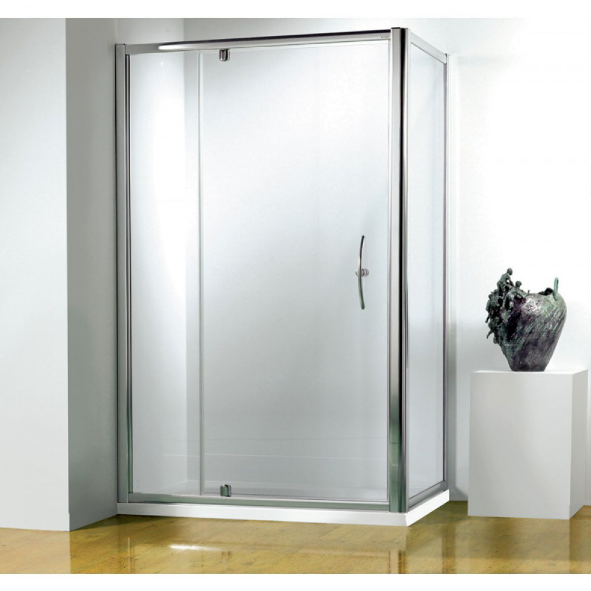Kudos original 1000mm pivot shower door uk bathrooms for 1000mm shower door