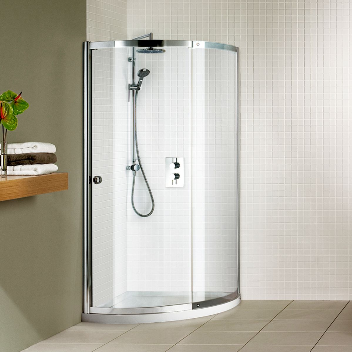 Awesome Round Corner Shower Kits Ideas - 3D house designs - veerle.us