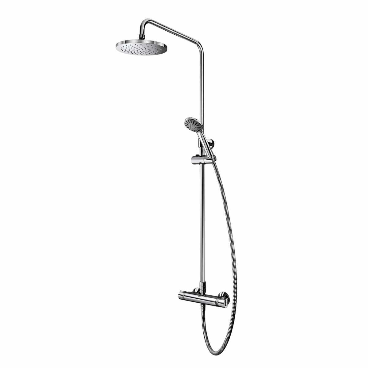 Aqualisa Ultra Exposed Twin Head Shower Kit : UK Bathrooms