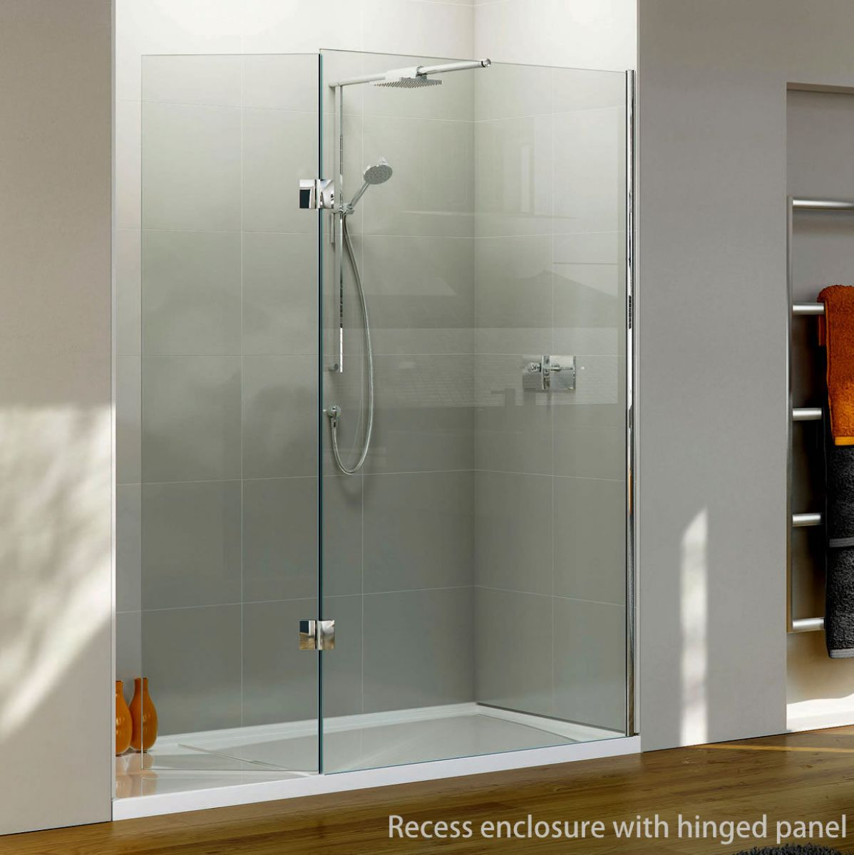 Matki Boutique Recess Walk In Shower Enclosure Uk Bathrooms