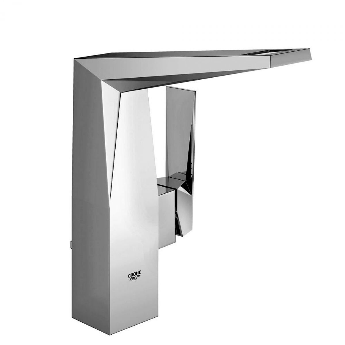 grohe allure brilliant side lever basin mixer tap uk. Black Bedroom Furniture Sets. Home Design Ideas
