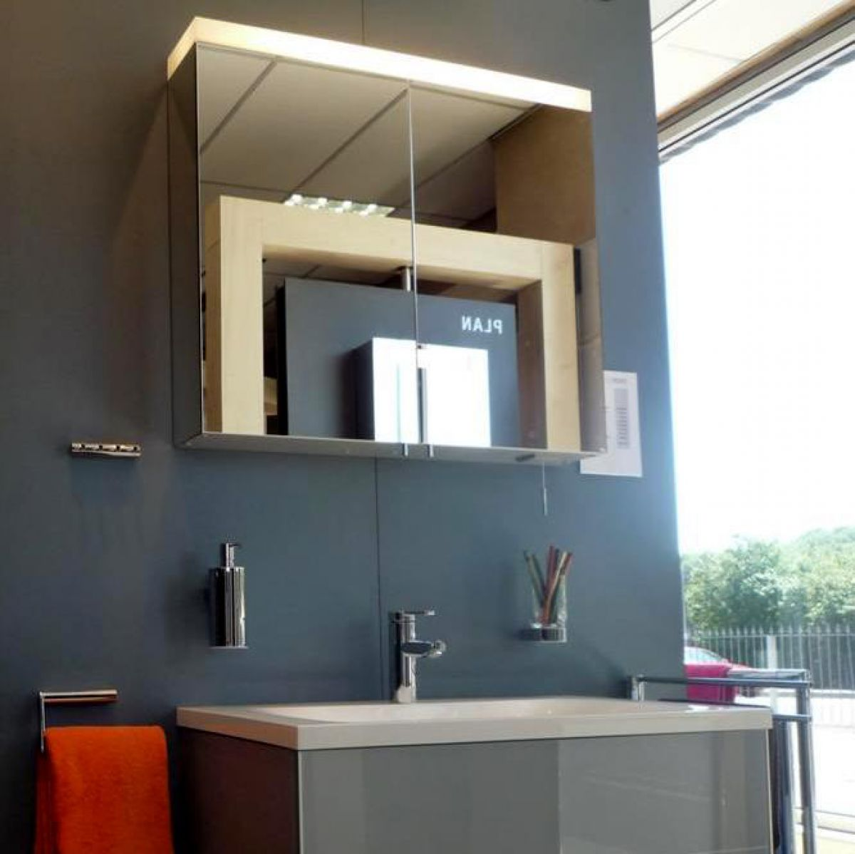 keuco royal reflex mirror cabinet uk bathrooms. Black Bedroom Furniture Sets. Home Design Ideas
