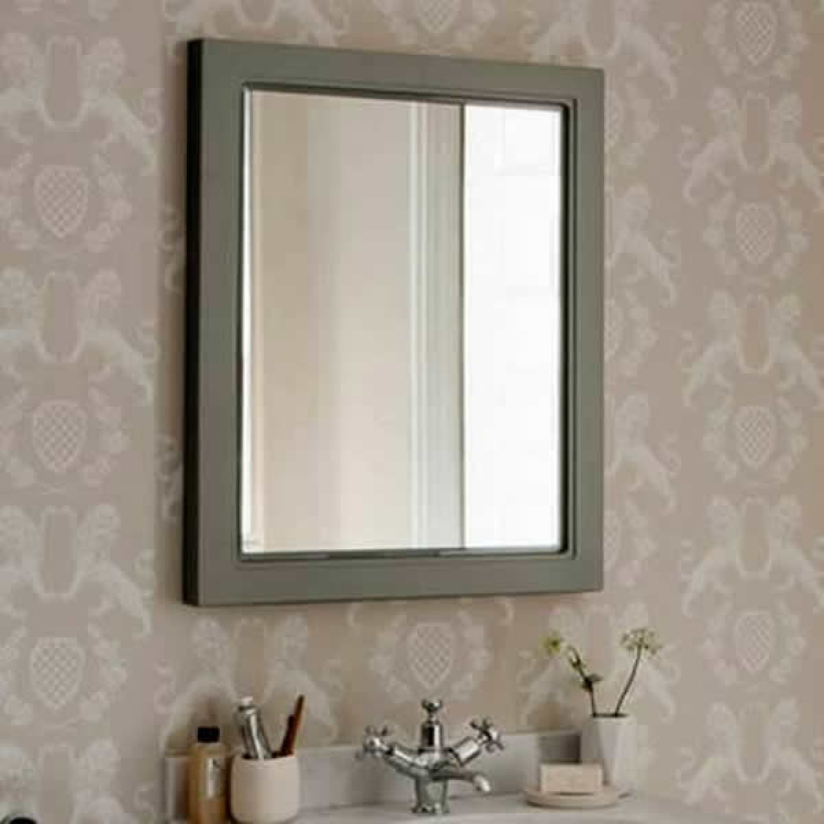 burlington bathroom mirror burlington framed mirror uk bathrooms 12208