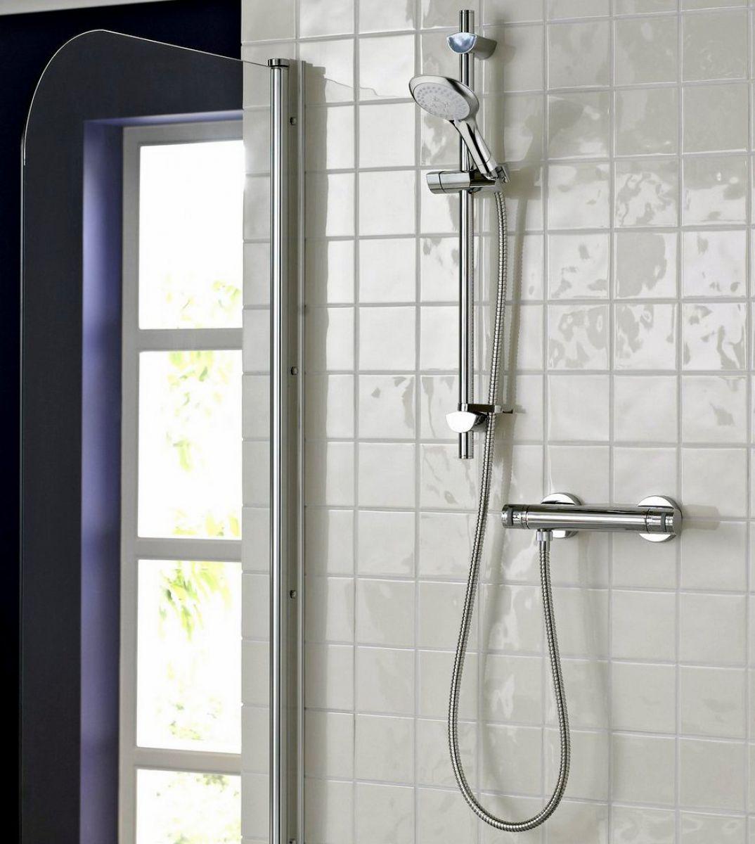 Bristan Artisan Thermostatic Surface Mounted Bar Shower Valve Uk