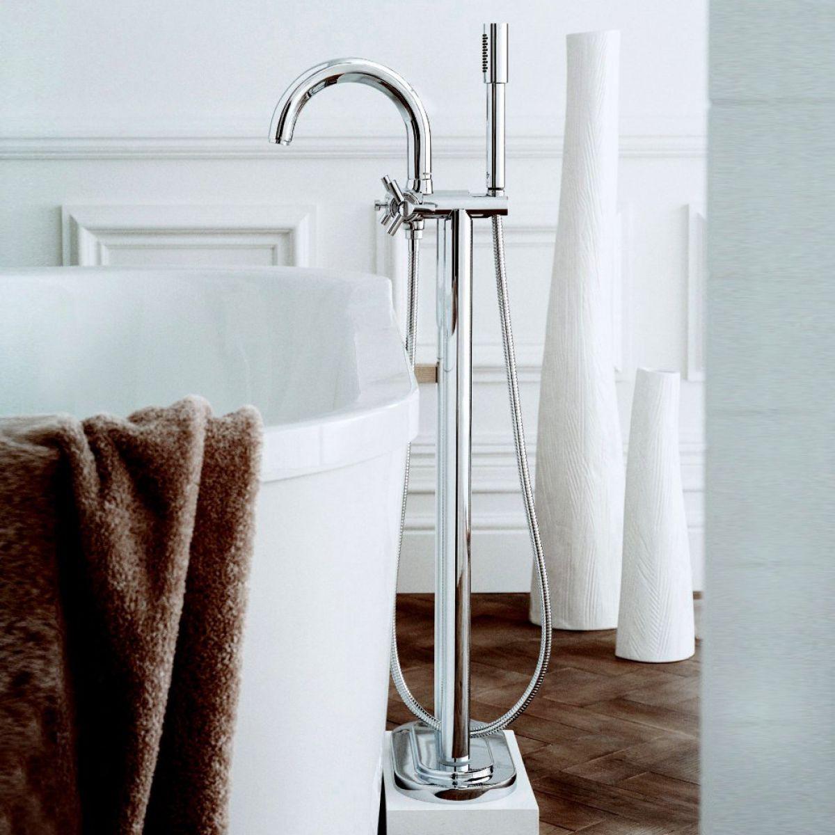 Grohe Atrio Ypsilon Floor Mounted Bath Shower Mixer Uk Bathrooms