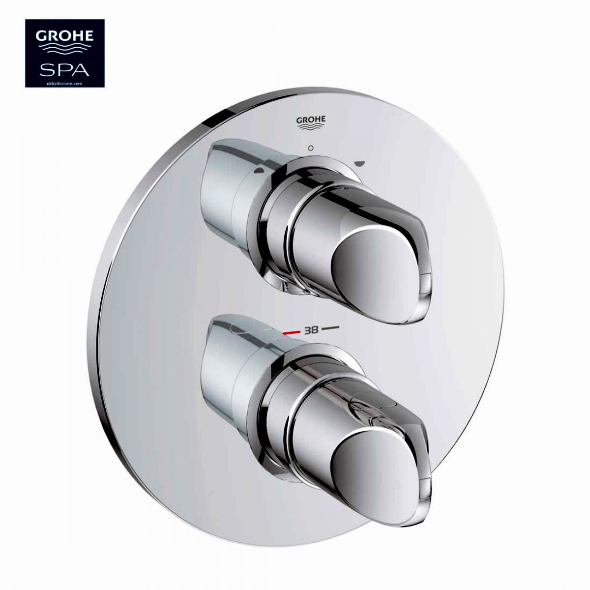 Grohe Veris Thermostatic Shower Mixer : UK Bathrooms
