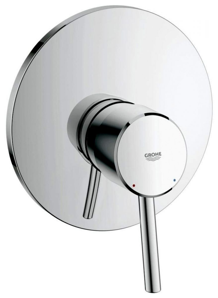 grohe concetto single lever shower mixer uk bathrooms. Black Bedroom Furniture Sets. Home Design Ideas