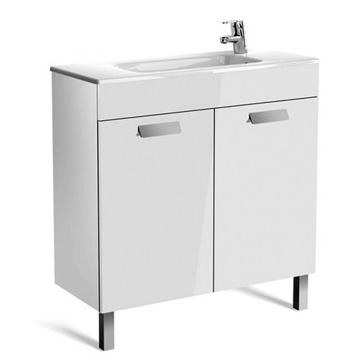 Roca Debba Compact 10 Door Vanity Unit with Basin : UK Bathrooms