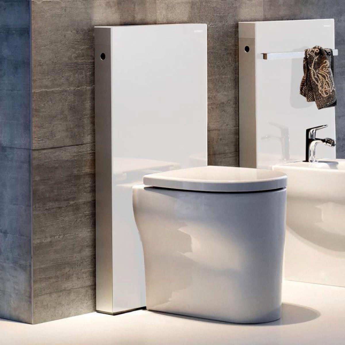 geberit monolith for floor standing toilets uk bathrooms. Black Bedroom Furniture Sets. Home Design Ideas