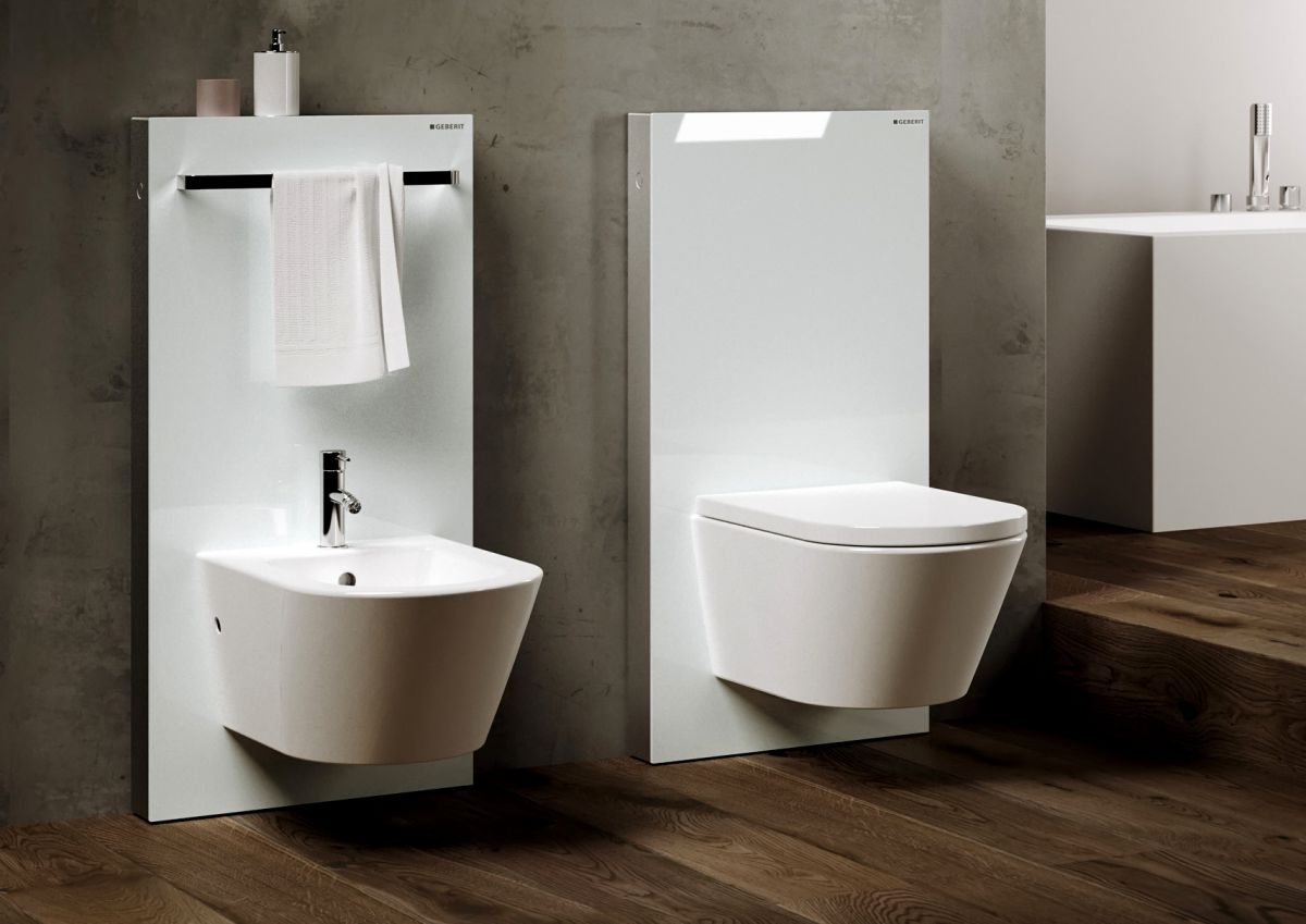 geberit monolith for wall hung toilets uk bathrooms. Black Bedroom Furniture Sets. Home Design Ideas