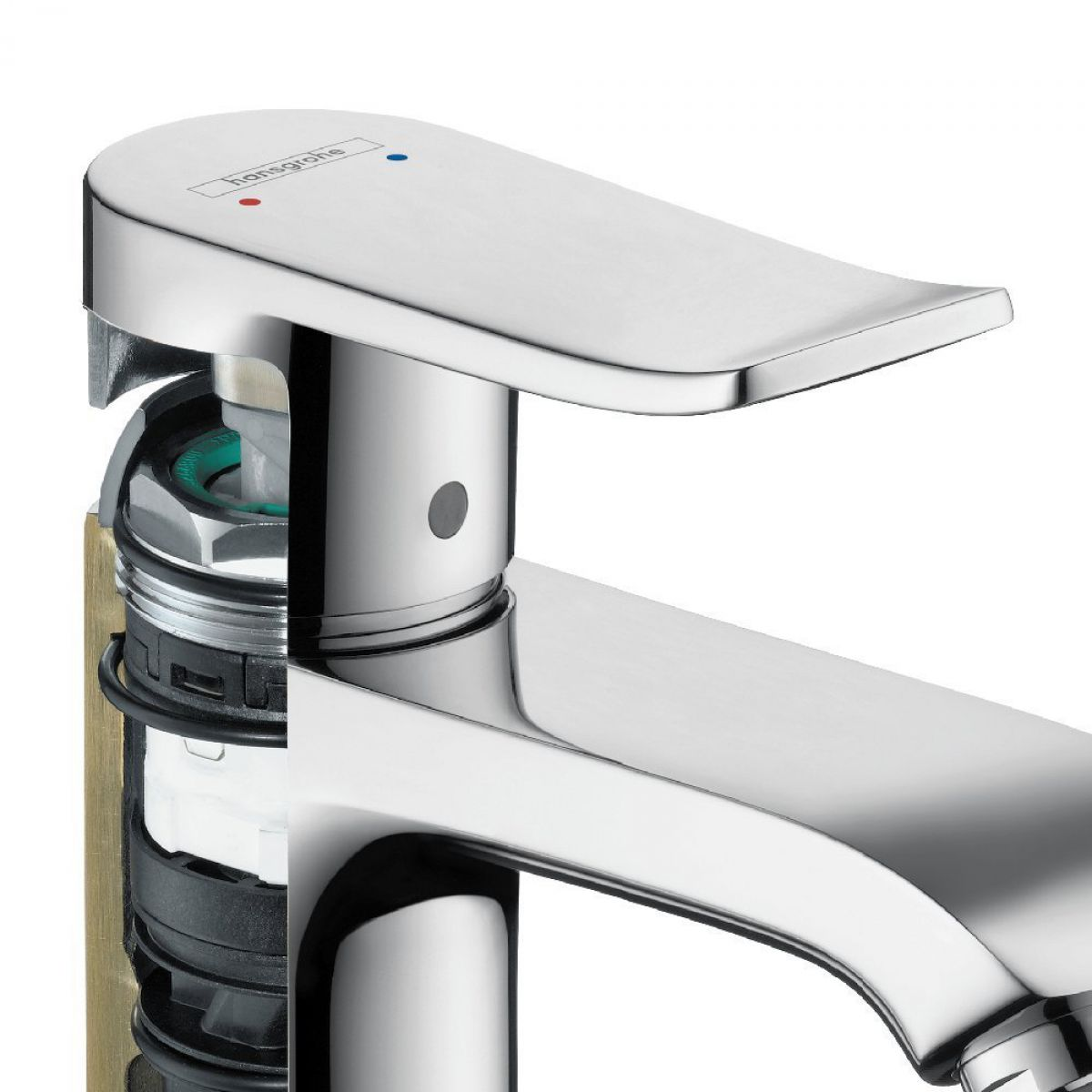 Hansgrohe Metris 110 Basin Mixer Tap : UK Bathrooms