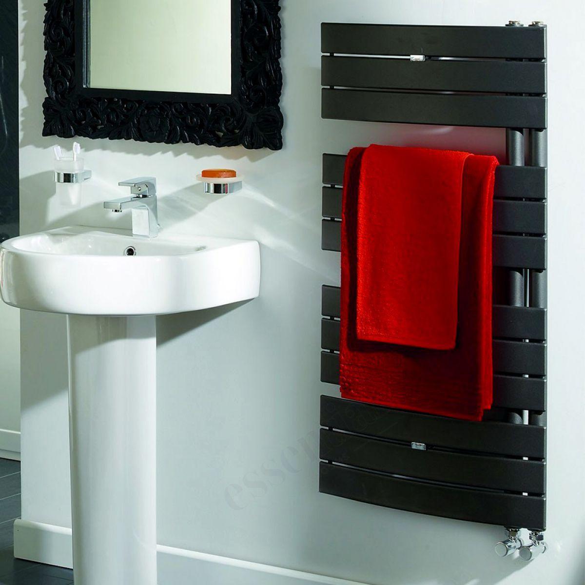 Origins Aries Curved Towel Warmer : UK Bathrooms