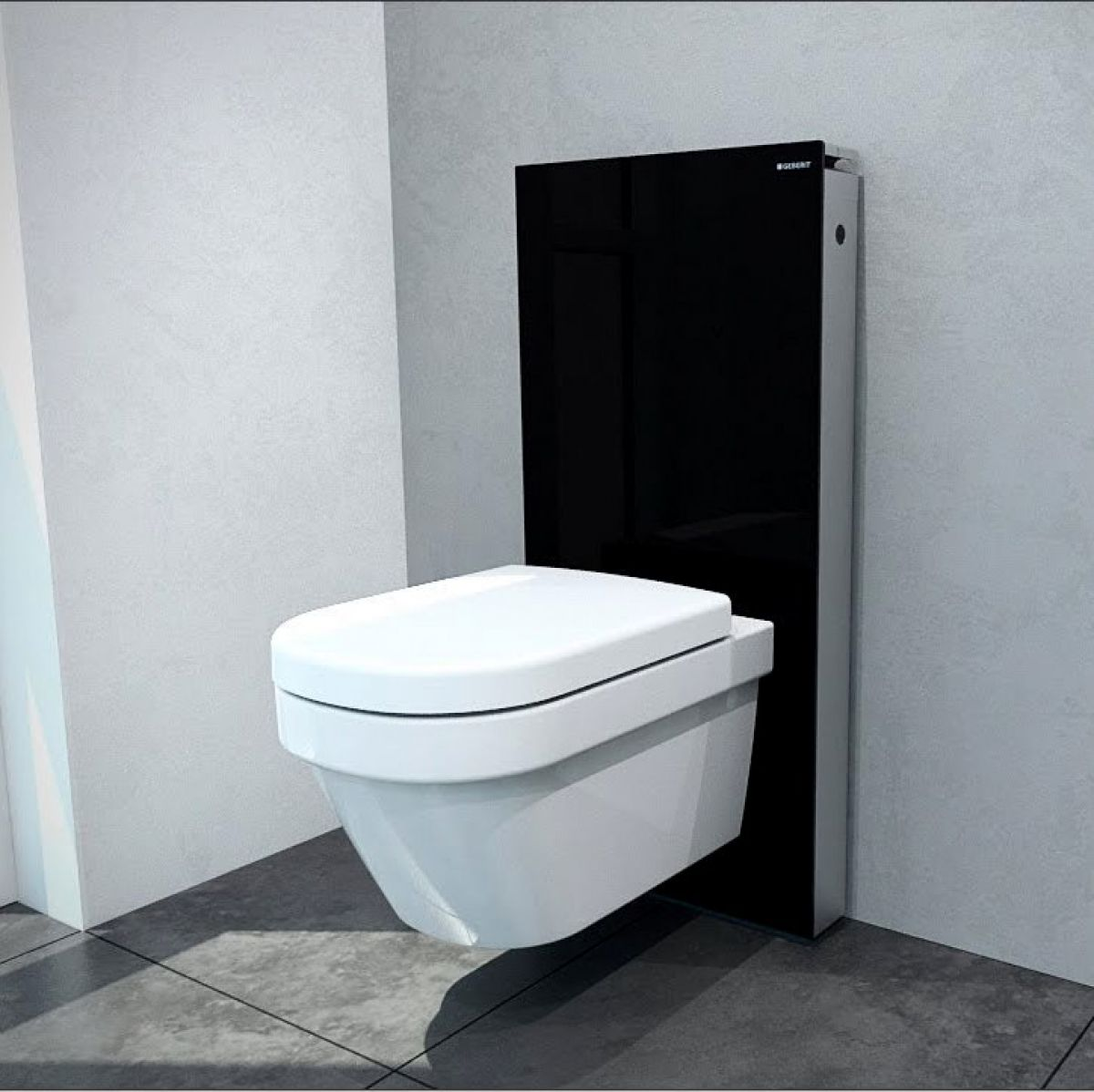good gerberit toilet #2: Geberit Monolith For Wall Hung Toilets