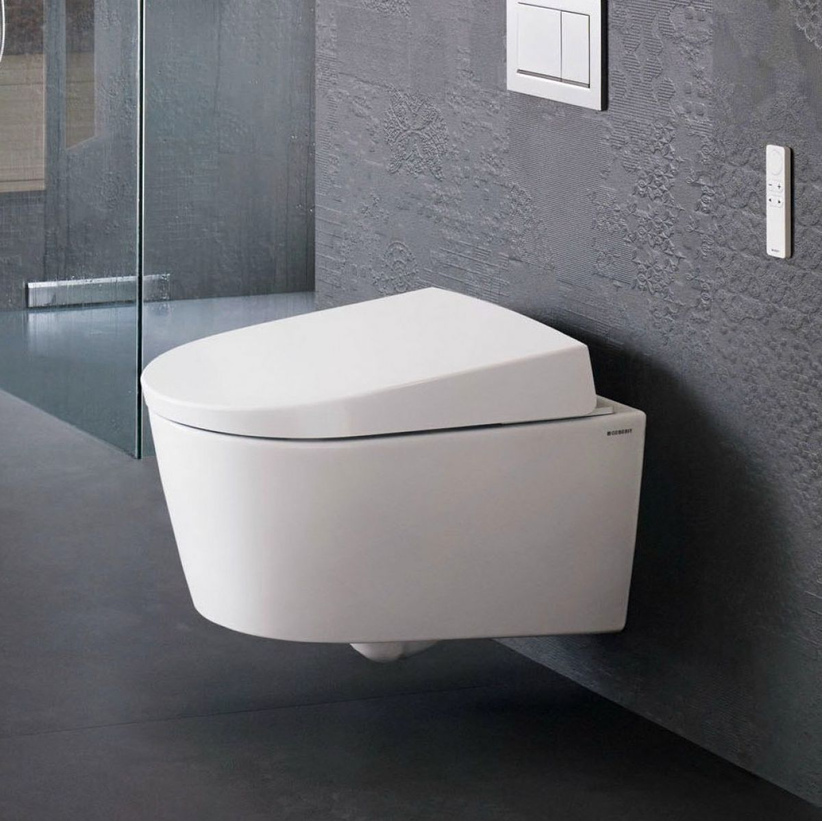 geberit aquaclean sela shower toilet uk bathrooms. Black Bedroom Furniture Sets. Home Design Ideas