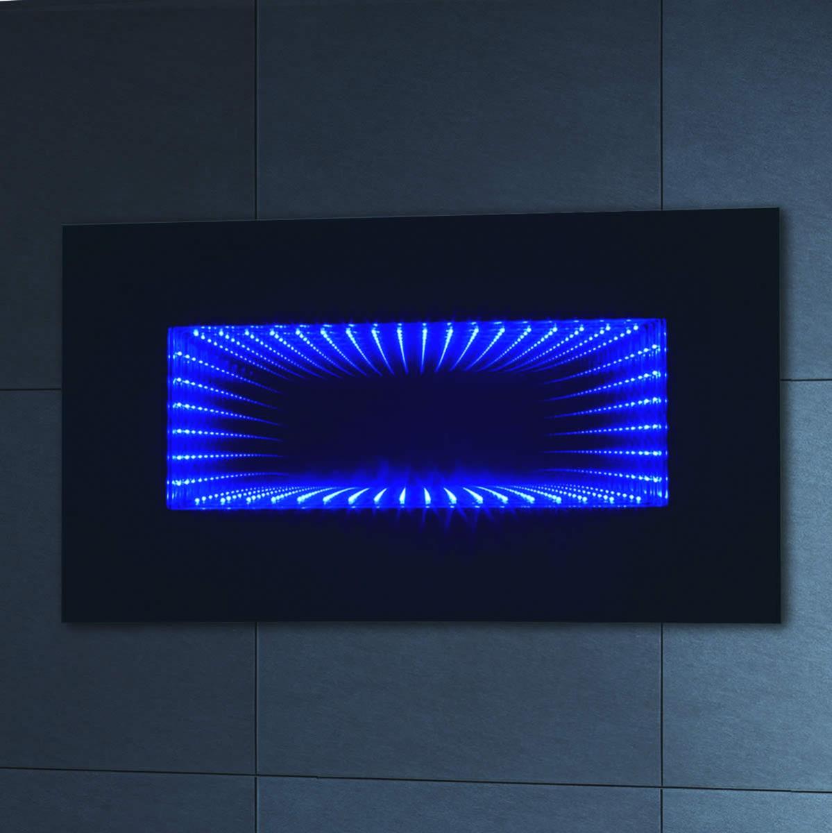 Phoenix Infiniti Horizontal Vertical Bathroom Mirror